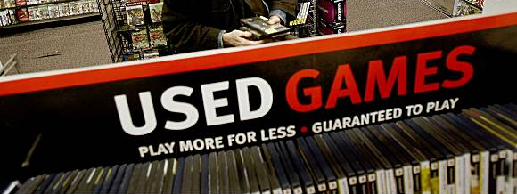 Retailers such as GameStop make a significant profit off of pre-owned sales.